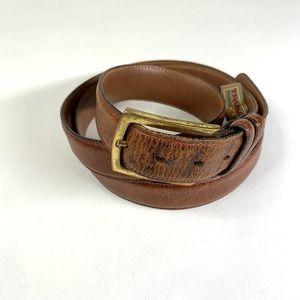 Trafalgar Leather Belt Classic Scotch Grain Tan 44